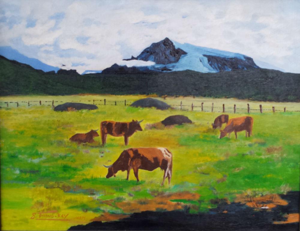 """"""" Vaches en prairie """""""
