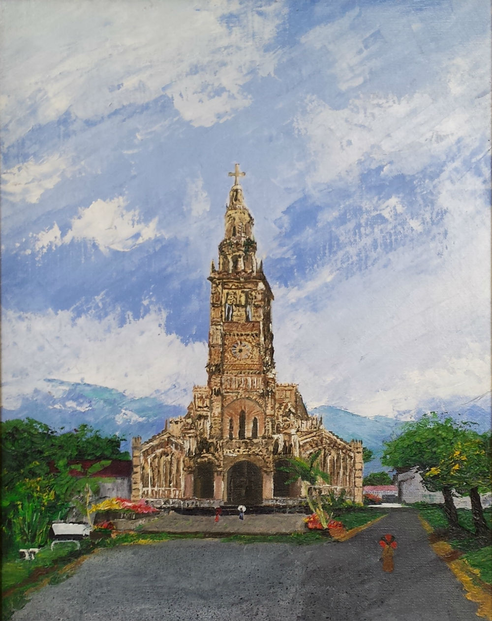 """ Eglise de Sainte-Anne """