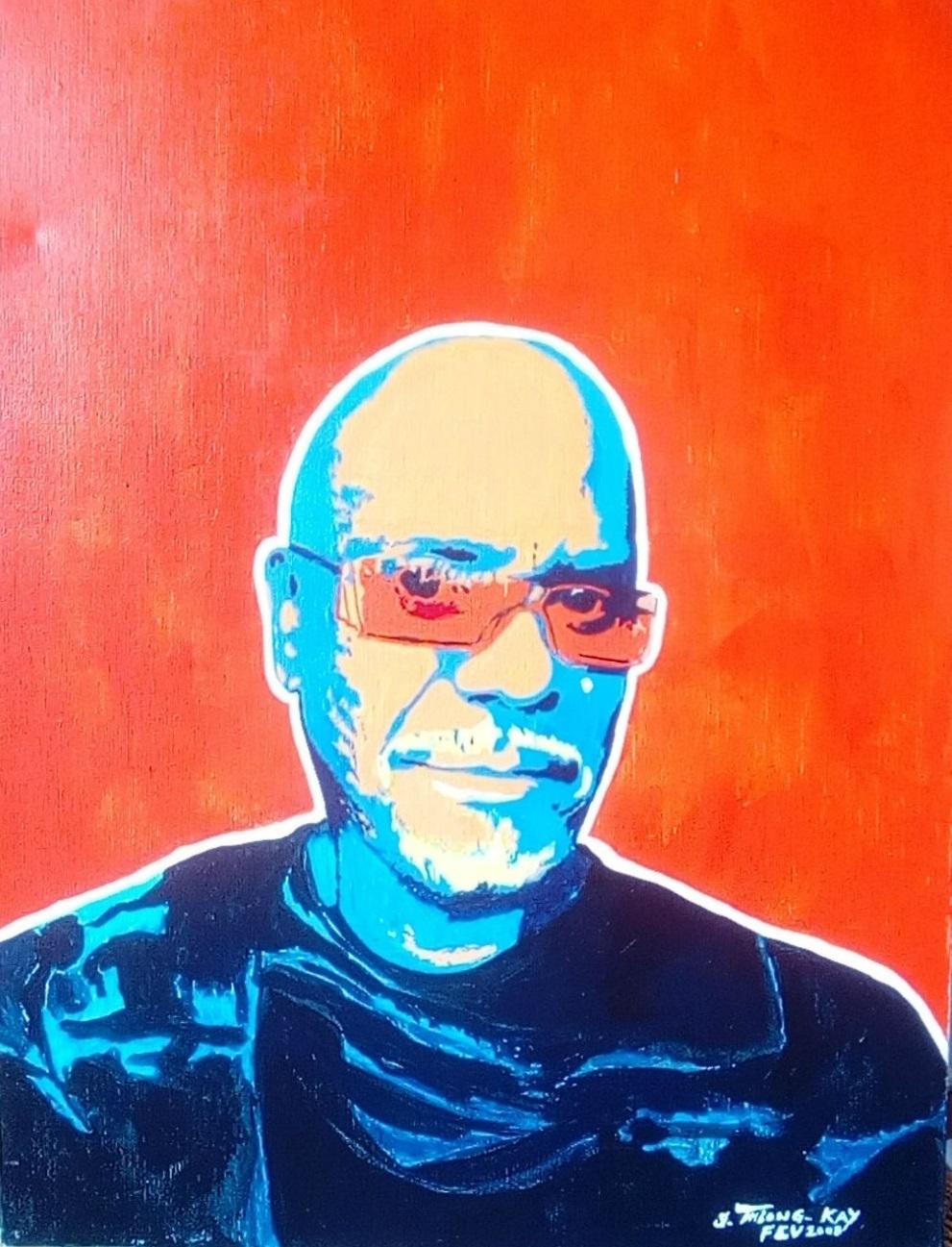"""Auto portrait"" Street Art"