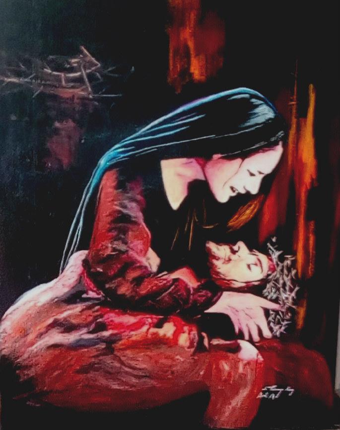 """"""" Les larmes de Marie """""""