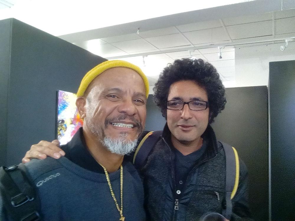 D SAMINADIN et S THIONG-KAY échange entre deux artistes