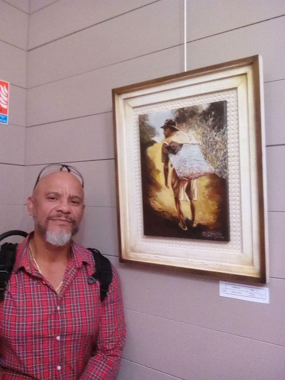 L'artiste et son tableau