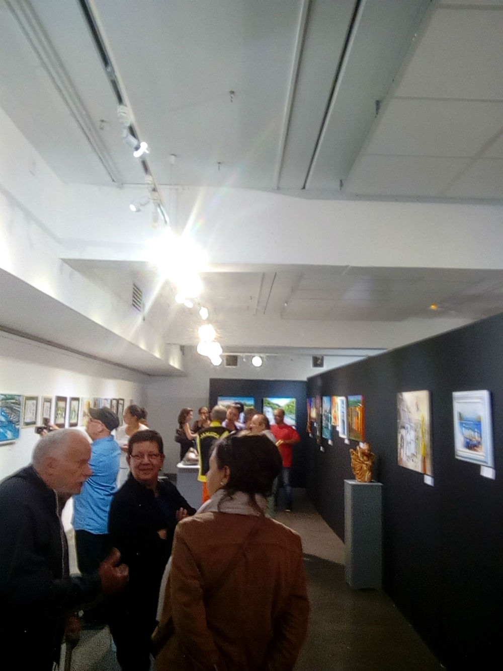 Vernissage à St-Pierre