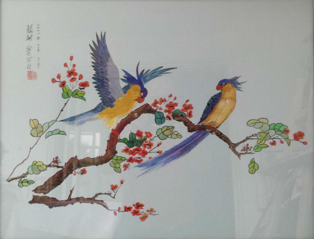 """""""Oiseaux sur la branche"""""""